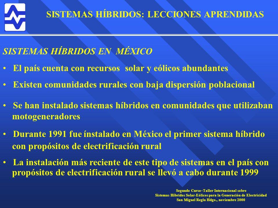 SISTEMAS HÍBRIDOS EN MÉXICO