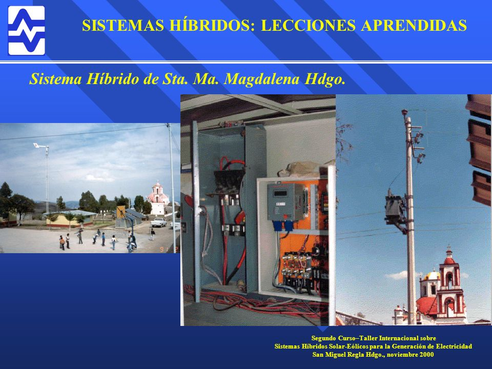 Sistema Híbrido de Sta. Ma. Magdalena Hdgo.