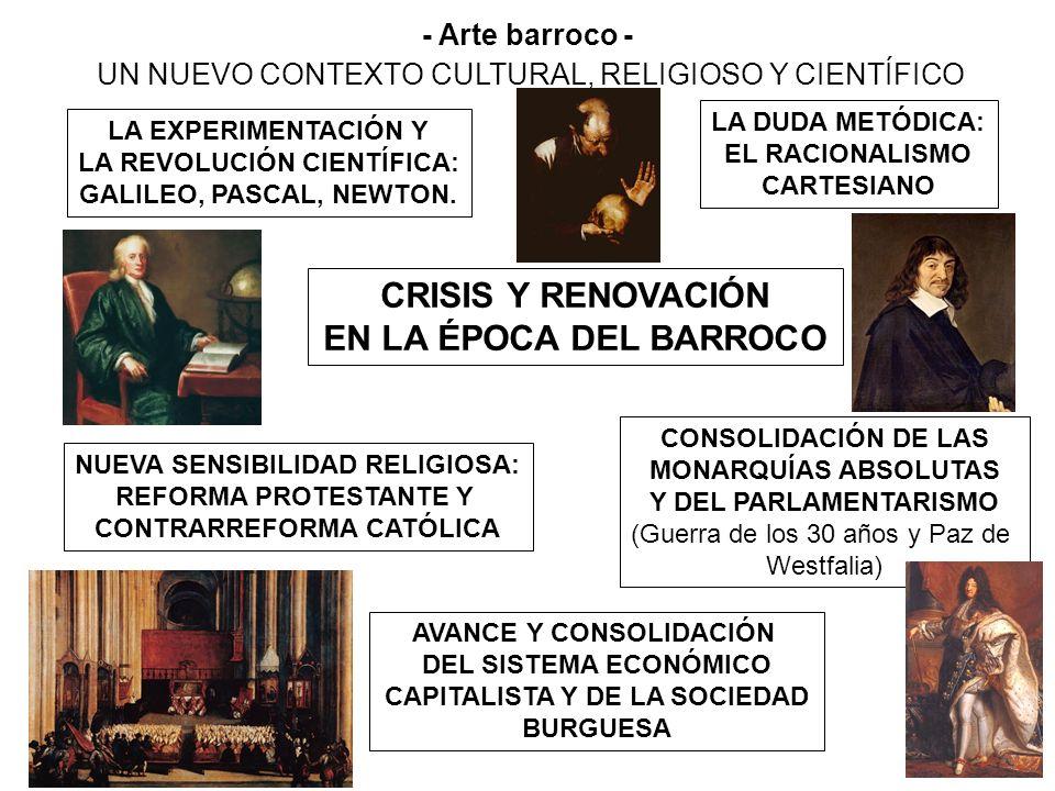 CRISIS Y RENOVACIÓN EN LA ÉPOCA DEL BARROCO