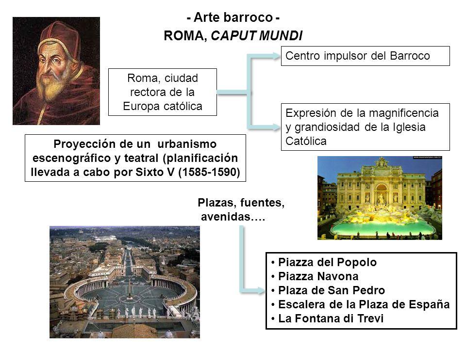 - Arte barroco - ROMA, CAPUT MUNDI