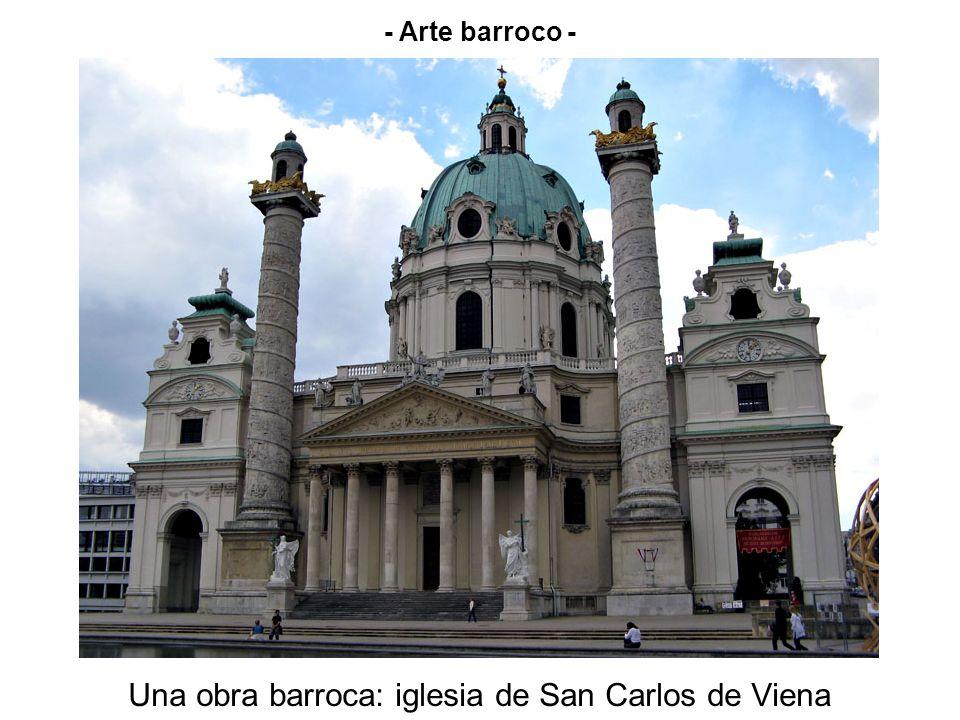 Una obra barroca: iglesia de San Carlos de Viena