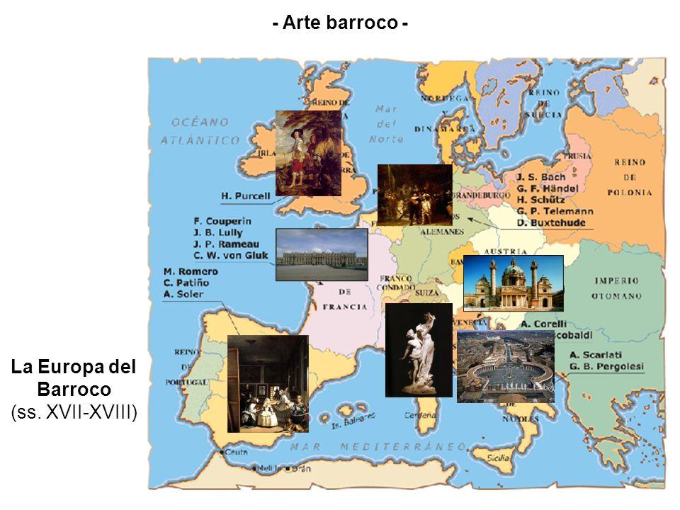 La Europa del Barroco (ss. XVII-XVIII)