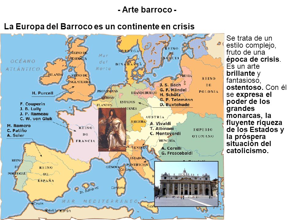 La Europa del Barroco es un continente en crisis