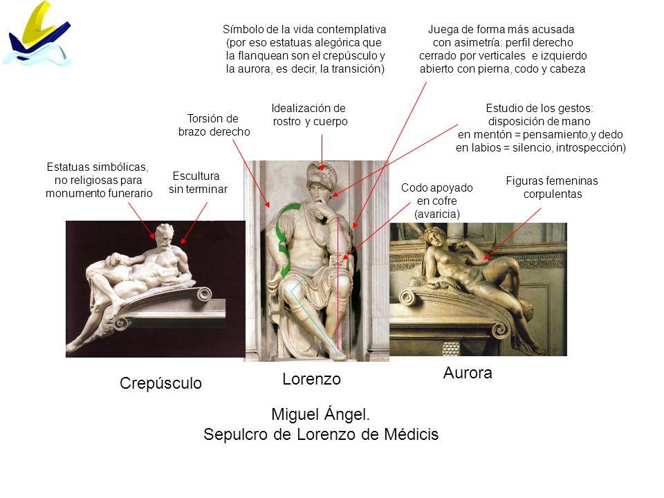 Sepulcro de Lorenzo de Médicis
