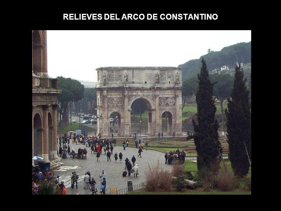 RELIEVES DEL ARCO DE CONSTANTINO