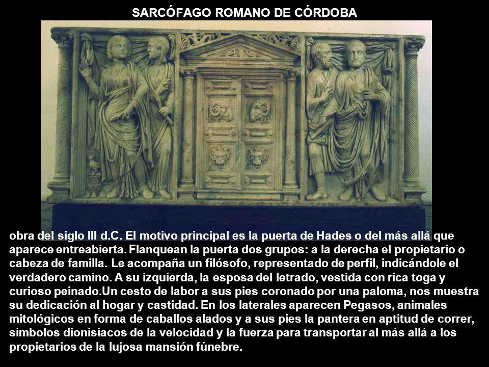 SARCÓFAGO ROMANO DE CÓRDOBA