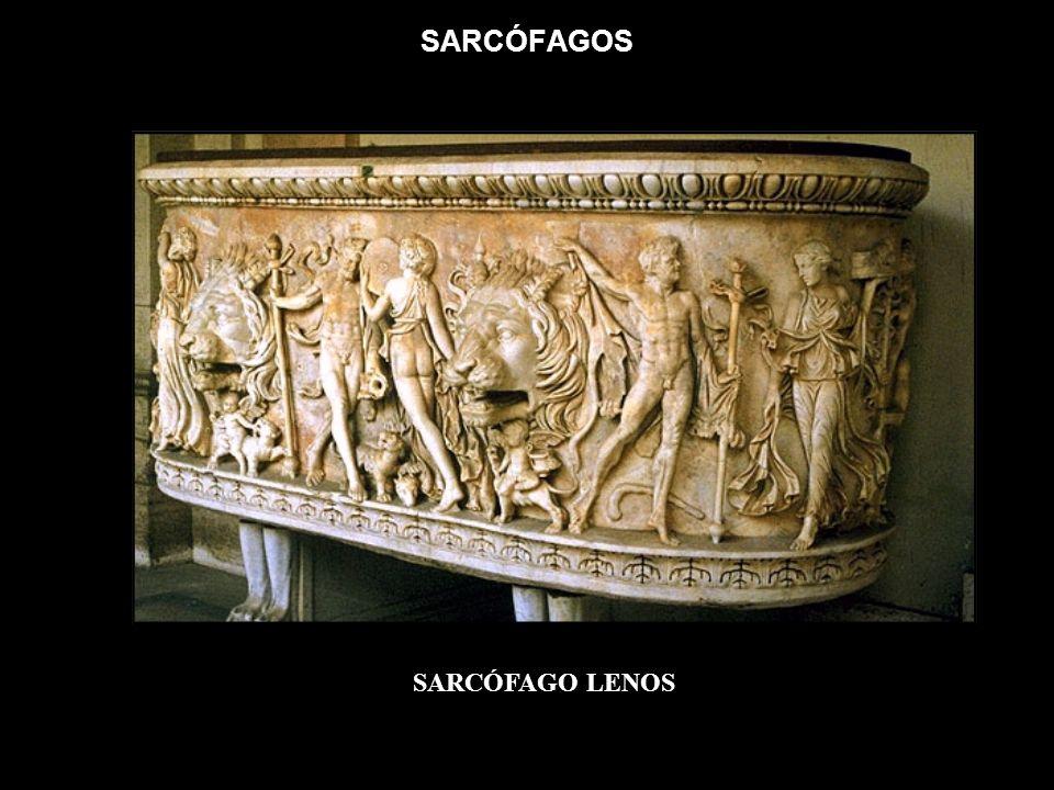SARCÓFAGOS SARCÓFAGO LENOS