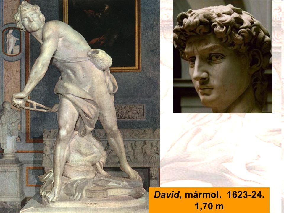 David, mármol. 1623-24. 1,70 m