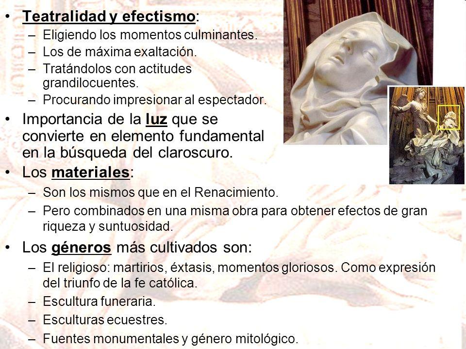 Teatralidad y efectismo: