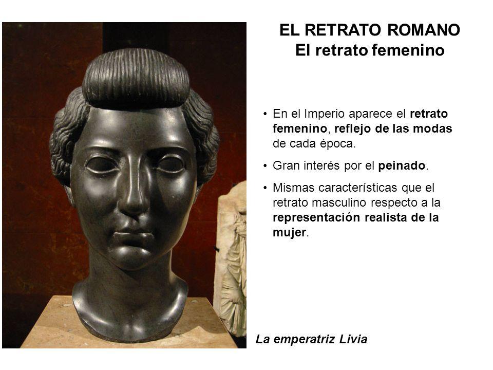 EL RETRATO ROMANO El retrato femenino