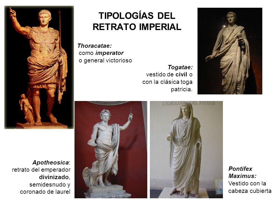 TIPOLOGÍAS DEL RETRATO IMPERIAL