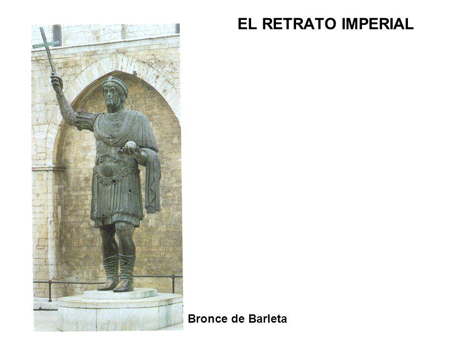 EL RETRATO IMPERIAL Bronce de Barleta