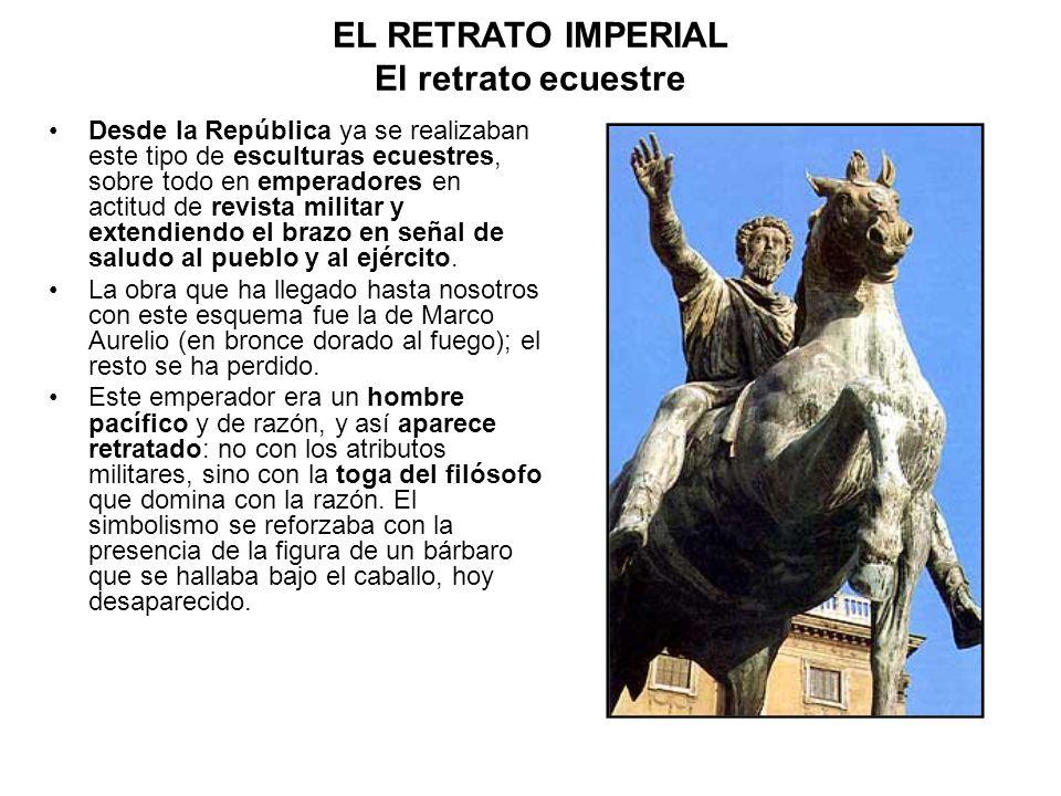 EL RETRATO IMPERIAL El retrato ecuestre