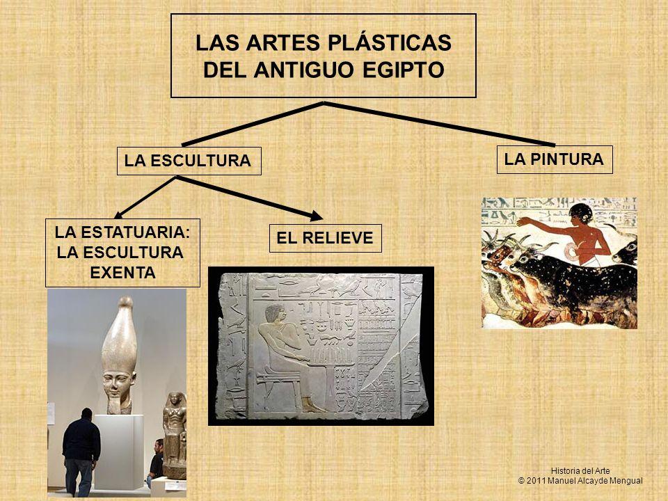 LAS ARTES PLÁSTICAS DEL ANTIGUO EGIPTO
