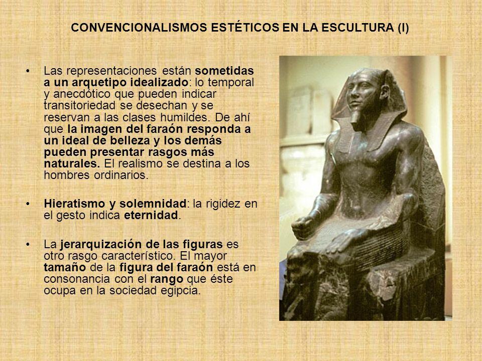 CONVENCIONALISMOS ESTÉTICOS EN LA ESCULTURA (I)