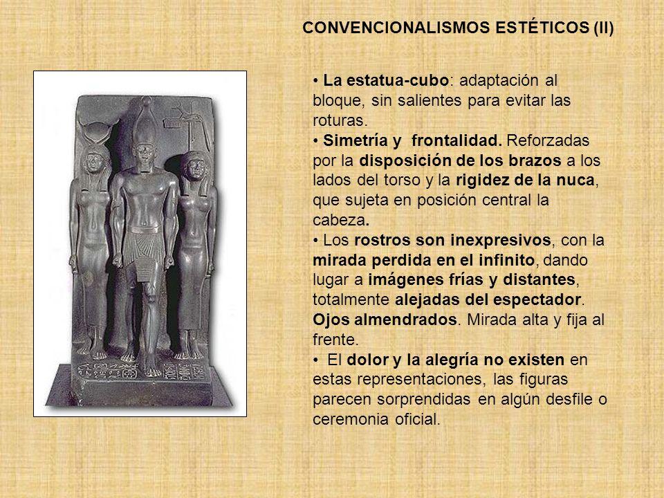 CONVENCIONALISMOS ESTÉTICOS (II)