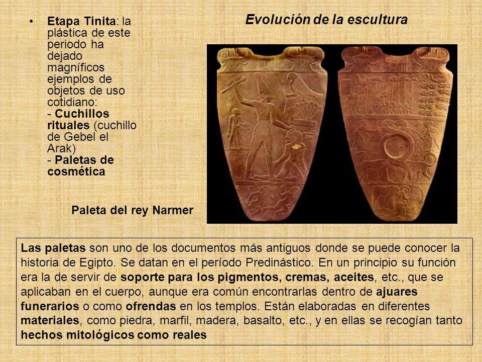 Evolución de la escultura
