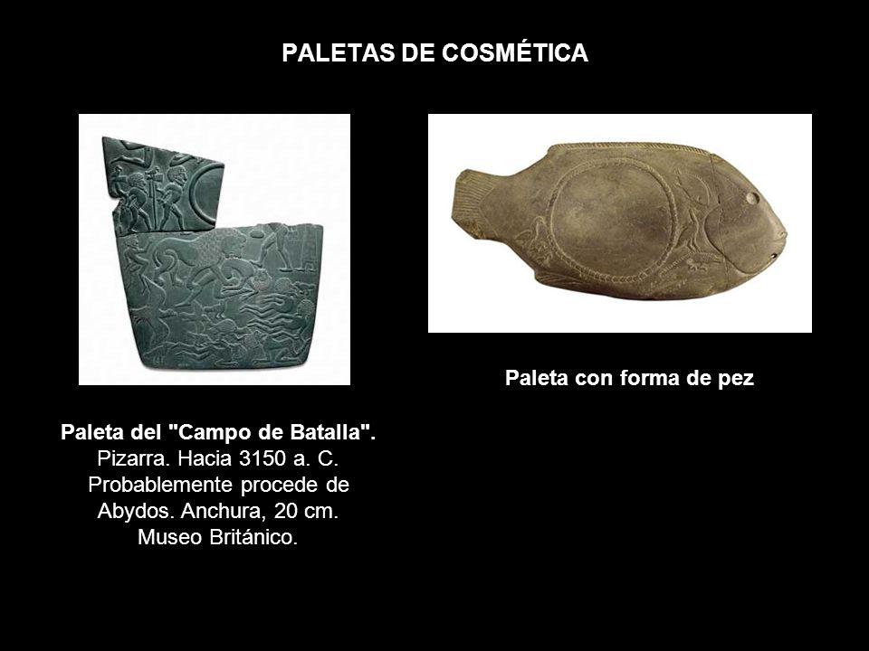PALETAS DE COSMÉTICA Paleta con forma de pez