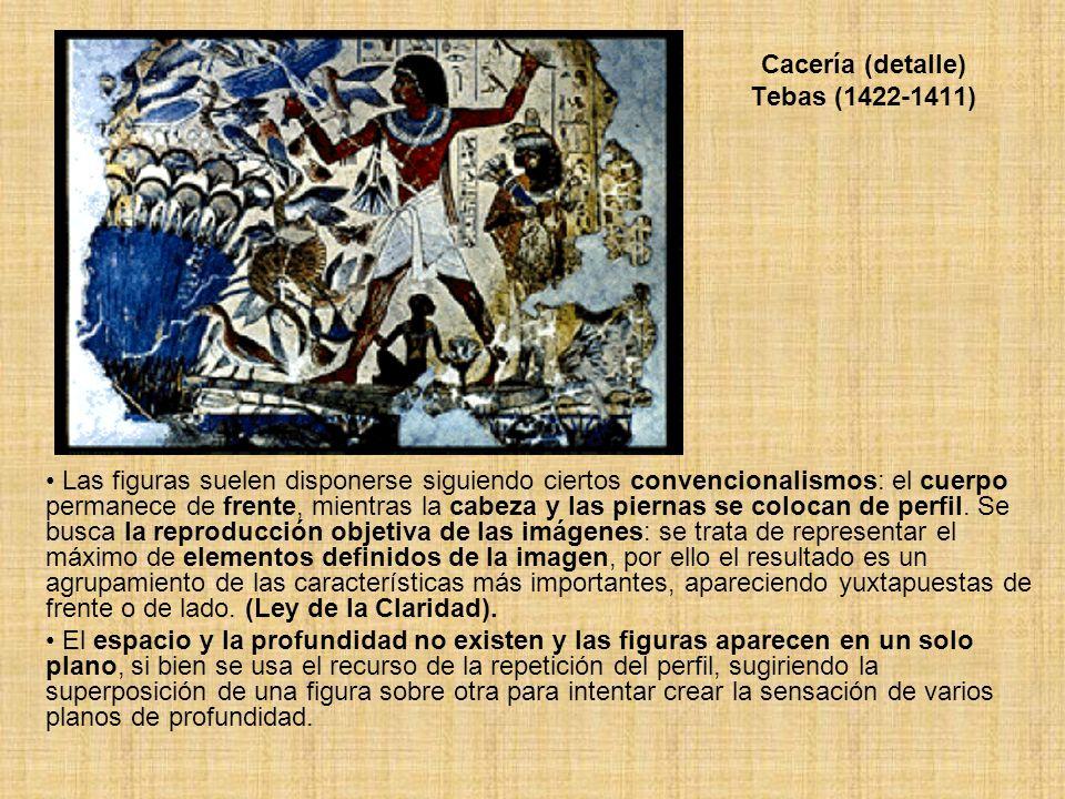 Cacería (detalle) Tebas (1422-1411)