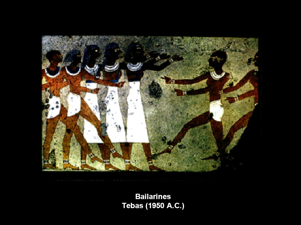 Bailarines Tebas (1950 A.C.)