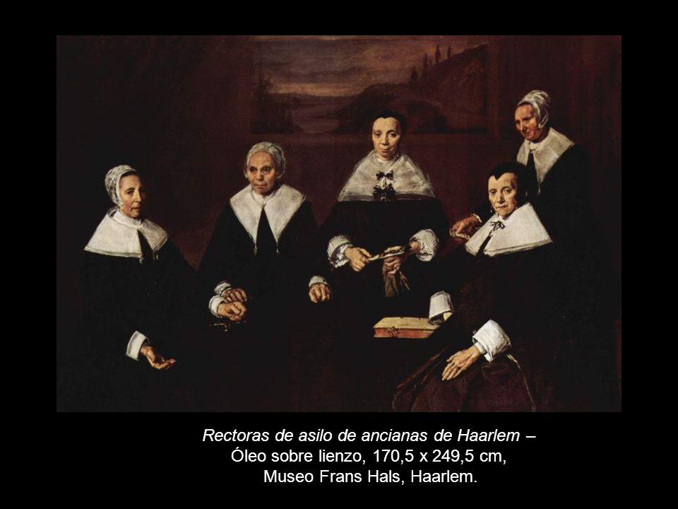 Rectoras de asilo de ancianas de Haarlem –