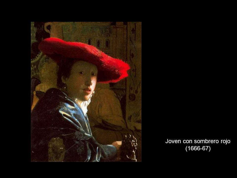 Joven con sombrero rojo