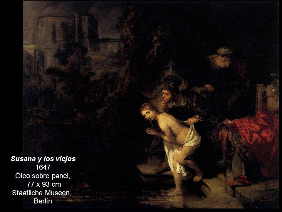 Susana y los viejos 1647 Óleo sobre panel,