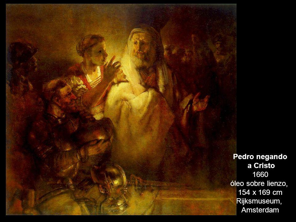 a Cristo 1660 óleo sobre lienzo,