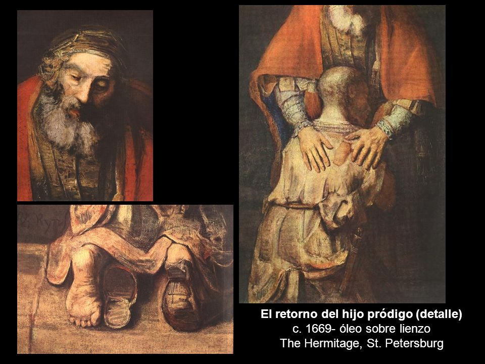 El retorno del hijo pródigo (detalle) c