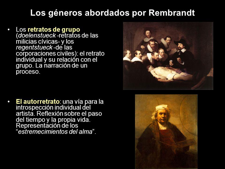 Los géneros abordados por Rembrandt