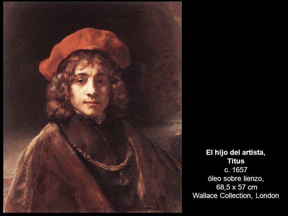 Titus c. 1657 óleo sobre lienzo,