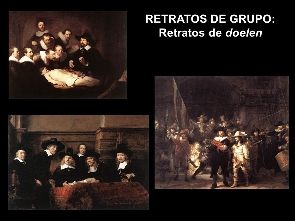 RETRATOS DE GRUPO: Retratos de doelen