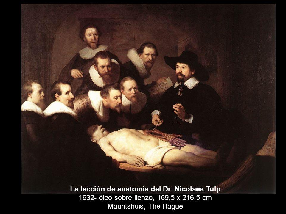La lección de anatomía del Dr