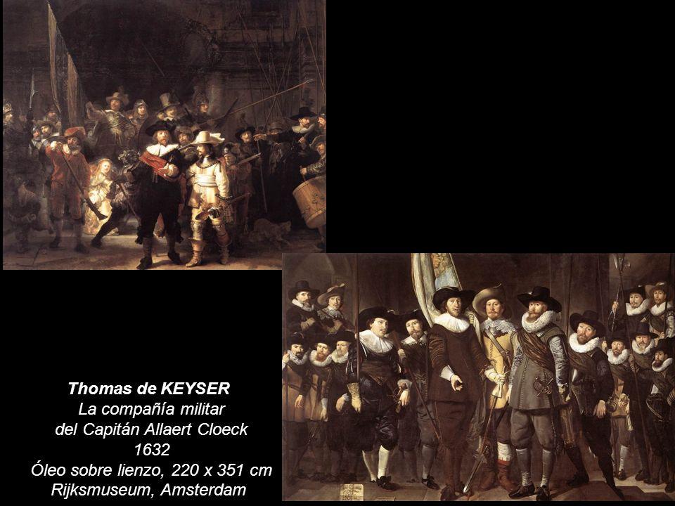 Thomas de KEYSER La compañía militar