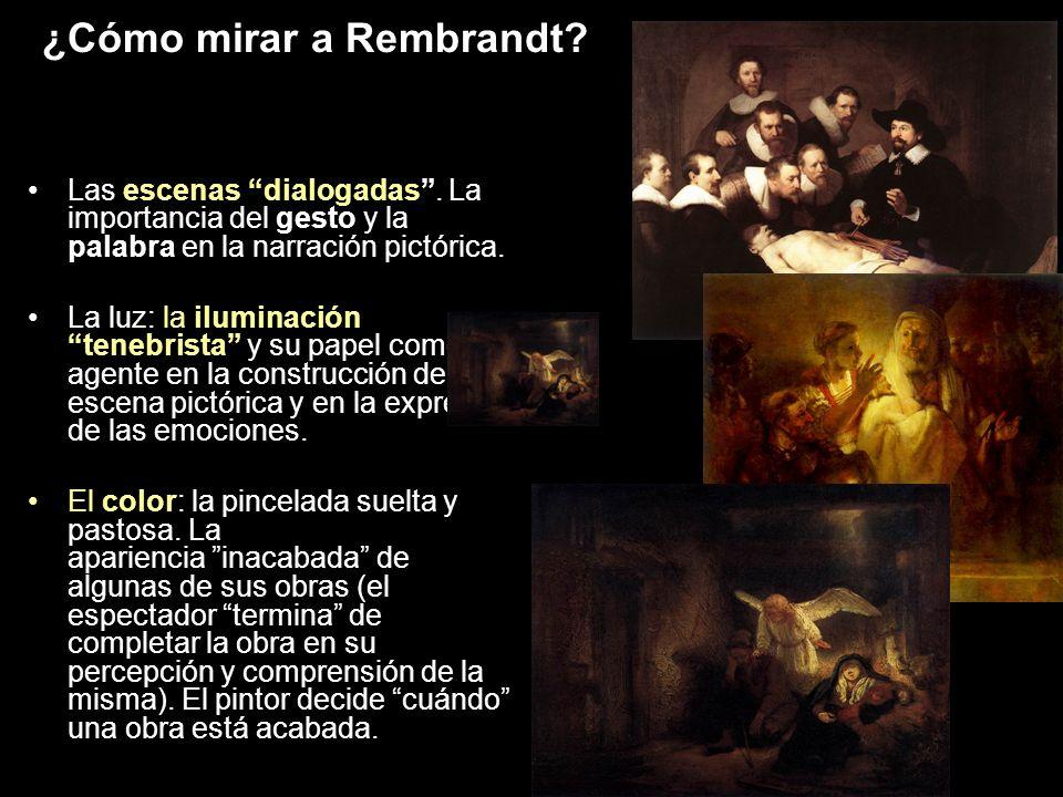 ¿Cómo mirar a Rembrandt