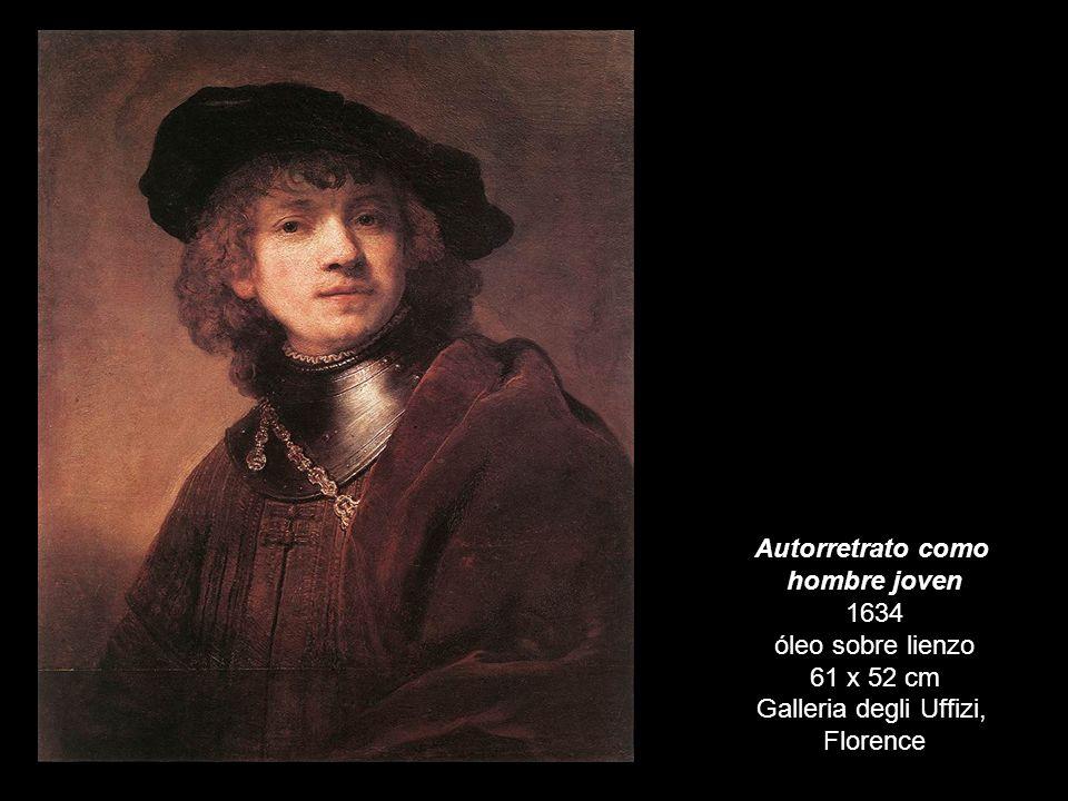 hombre joven 1634 óleo sobre lienzo