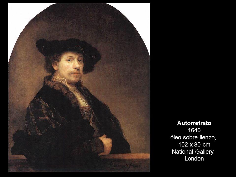 Autorretrato 1640 óleo sobre lienzo,