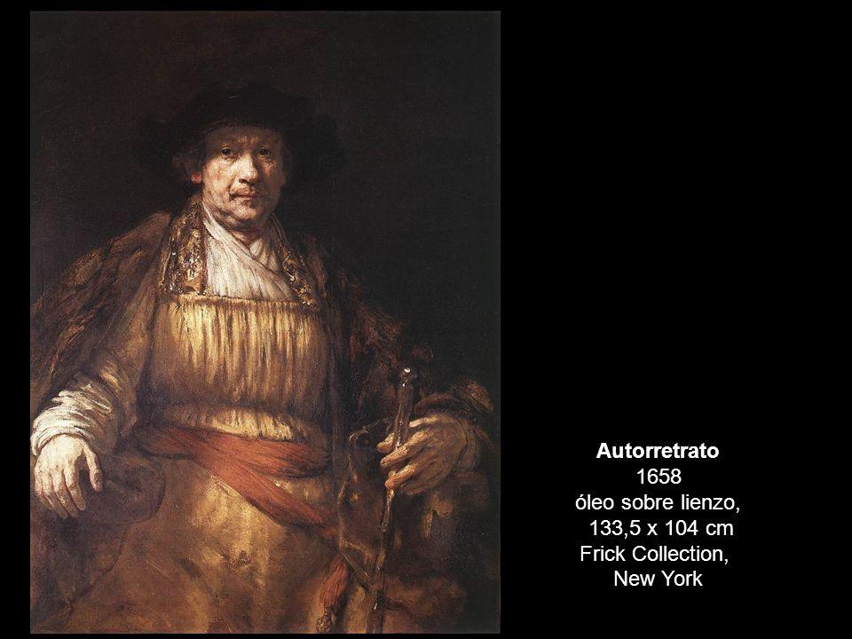 Autorretrato 1658 óleo sobre lienzo,