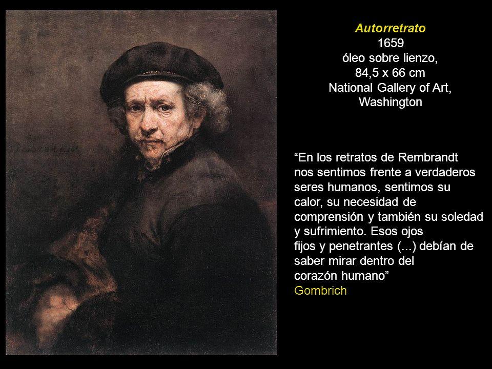 Autorretrato 1659 óleo sobre lienzo,