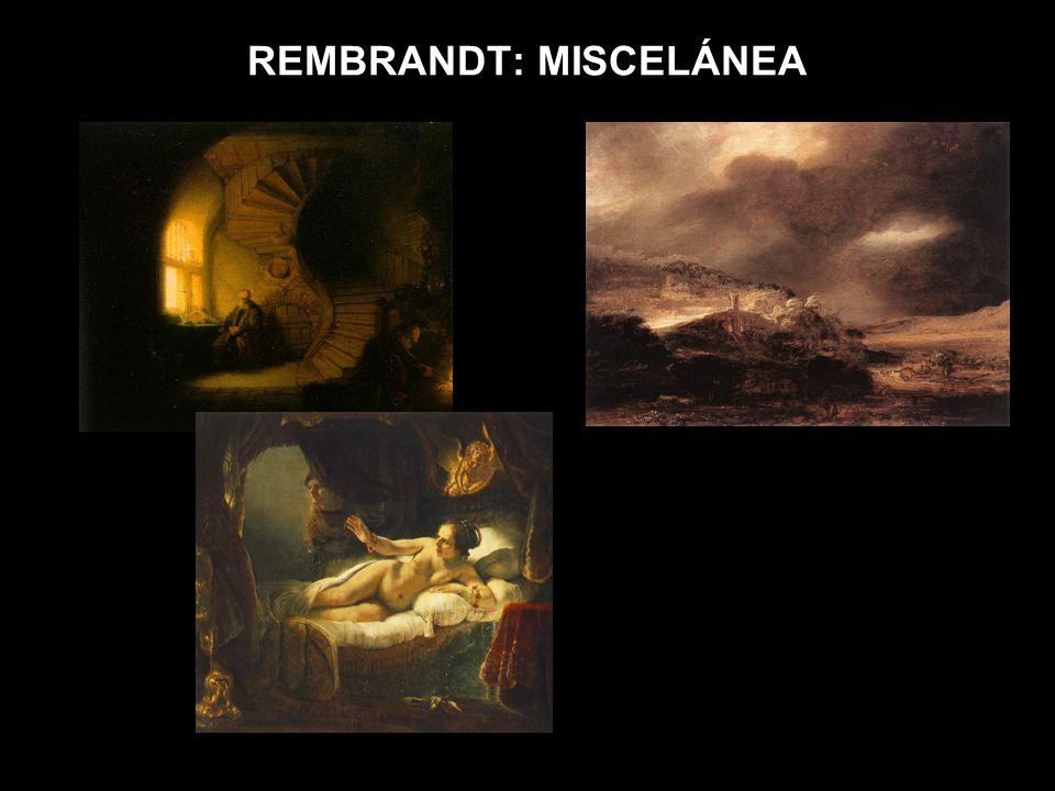 REMBRANDT: MISCELÁNEA
