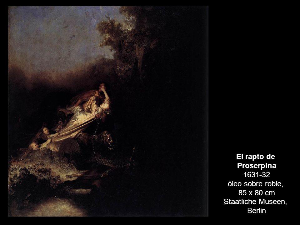 Proserpina 1631-32 óleo sobre roble,