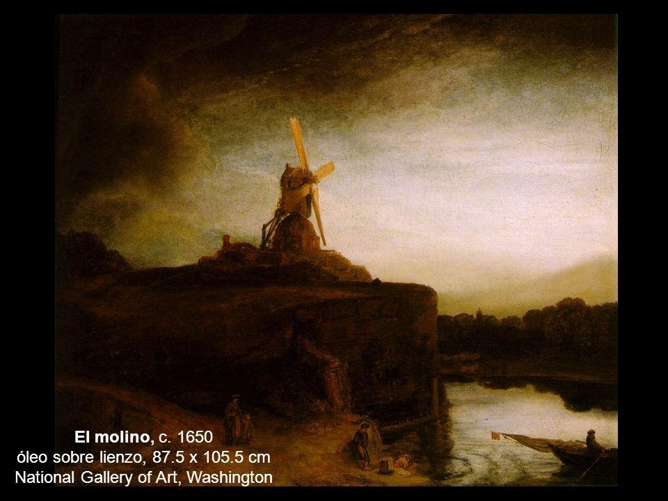 El molino, c. 1650 óleo sobre lienzo, 87. 5 x 105
