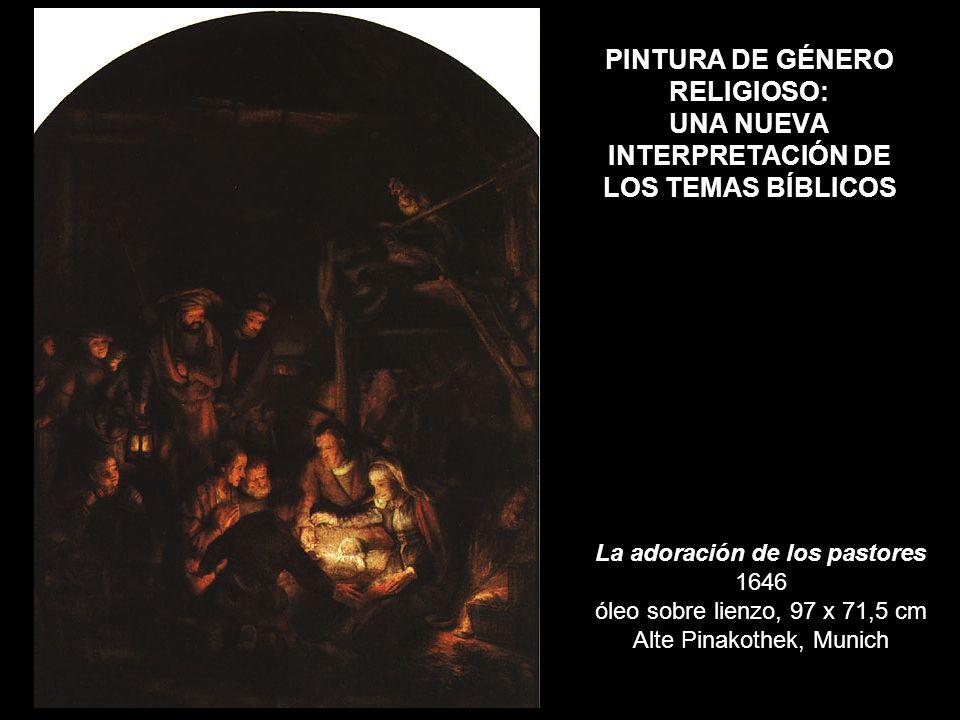 PINTURA DE GÉNERO RELIGIOSO: UNA NUEVA INTERPRETACIÓN DE LOS TEMAS BÍBLICOS