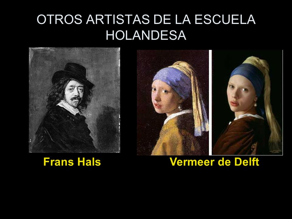 OTROS ARTISTAS DE LA ESCUELA HOLANDESA