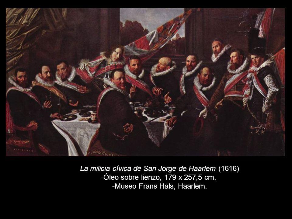 La milicia cívica de San Jorge de Haarlem (1616)