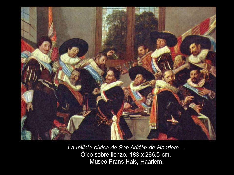 La milicia cívica de San Adrián de Haarlem –