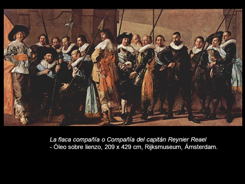 La flaca compañía o Compañía del capitán Reynier Reael