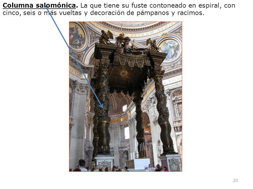 Columna salomónica.