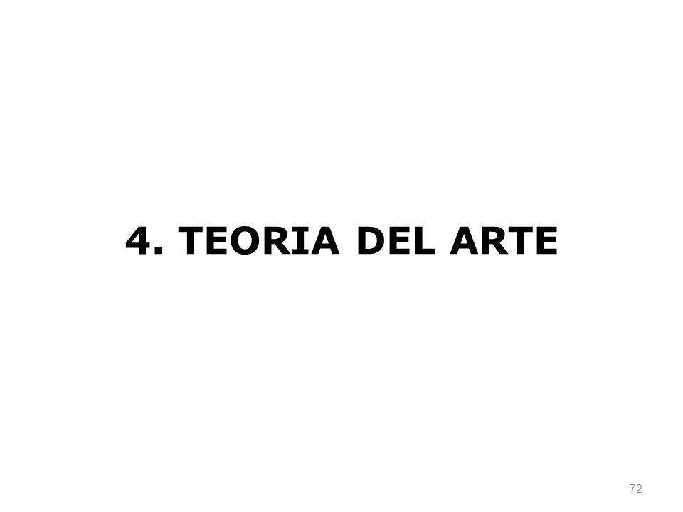 4. TEORIA DEL ARTE