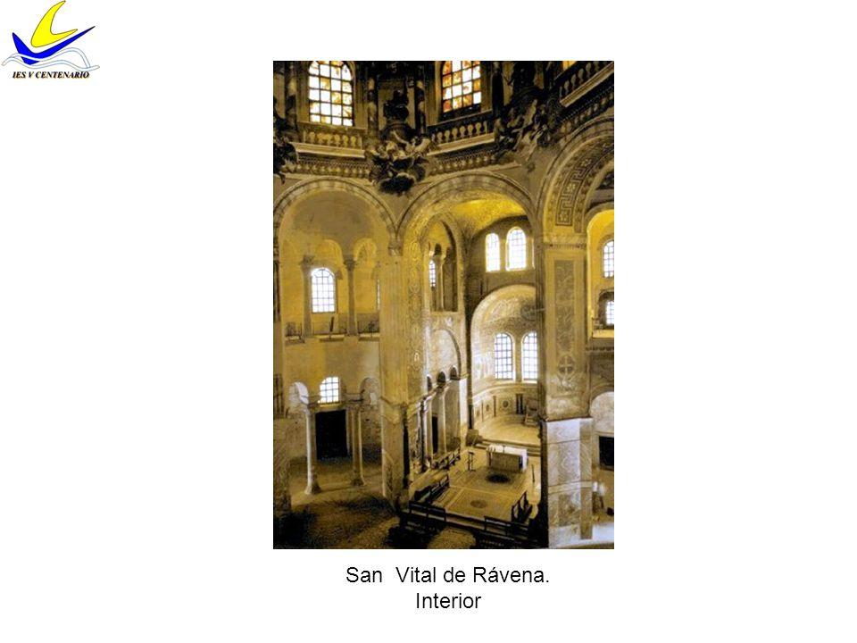 San Vital de Rávena. Interior